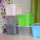 Контейнер для хранения вещей с крышкой 5 литров / Органайзер / Ящик для хранения, фото 4