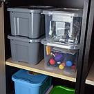 Контейнер для хранения вещей с крышкой 5 литров / Органайзер / Ящик для хранения, фото 5