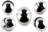 Шлем открытый   (с визором, size:XL, хром)   STAR, O-1602
