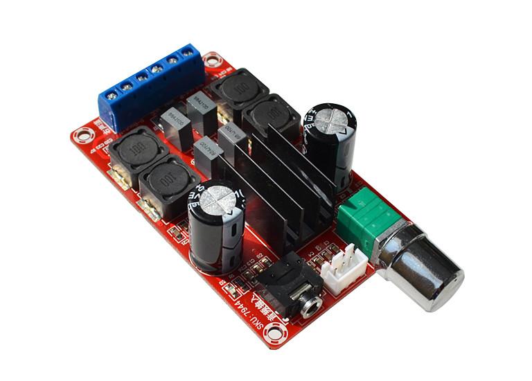 Стерео усилитель звука, TPA3116D2, 2х50Вт, 5-24В