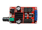 Стерео усилитель звука, TPA3116D2, 2х50Вт, 5-24В, фото 3