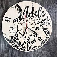 Оригинальные настенные часы «Adele»