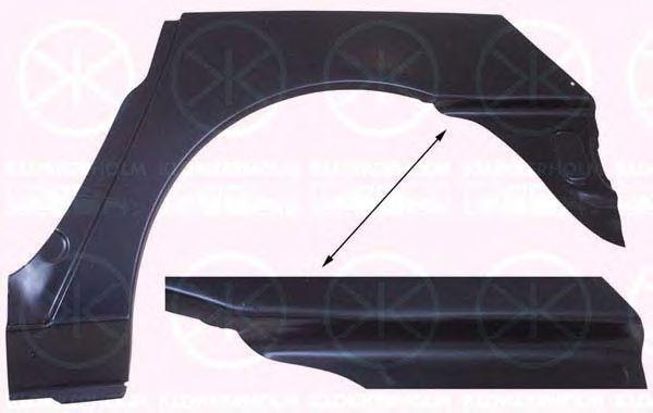 Арка заднього крила FORD GALAXY WGR / SEAT ALHAMBRA (7V8, 7V9) / VW SHARAN Рік: 08-1995 - 04-2010