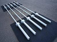 Олимпийские грифы для штанг оцинкованные, 2.2 м, макс. нагрузка до 350 кг, фото 1