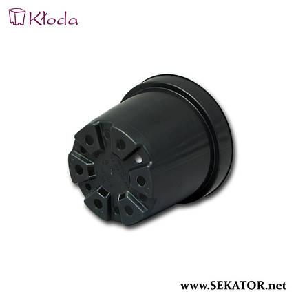 Круглі горщики (контейнери) для рослин Kloda Fs, 50 штук (Польща), фото 2