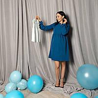 Свободное платье для беременных и кормящих 42-50 р