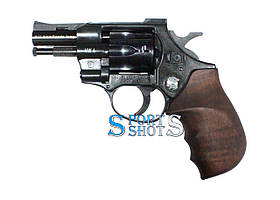 Револьвер под патрон Флобера Weihrauch HW4 2.5'' с деревянной рукоятью