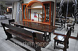 Стол деревянный дачный 1600*800 для кафе, баров, ресторанов от производителя, фото 2