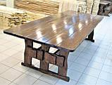 Стол деревянный для кафе, баров, ресторанов 3000*1200 от производителя, фото 3