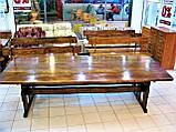 Стол деревянный для кафе, баров, ресторанов 3000*1200 от производителя, фото 4