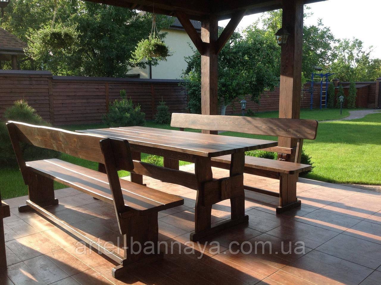 Деревянная мебель для ресторанов, баров, кафе в Каменец-Подольске от производителя