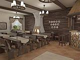 Деревянная мебель для ресторанов, баров, кафе в Мелитополе от производителя, фото 10