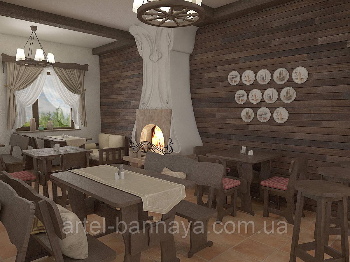 Деревянная мебель для ресторанов, баров, кафе в Черновцах от производителя