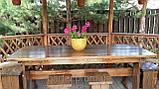 Деревянная мебель для беседок и мангалов в Днепропетровске от производителя, фото 3