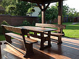 Деревянная мебель для беседок и мангалов в Николаеве от производителя, фото 3