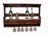 Буфет деревянный под старину, фото 7