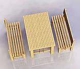 """Комплект деревянной мебели """"Одесса 1"""" 1200х800 от производителя, фото 2"""