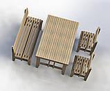 """Комплект деревянной мебели """"Одесса 3"""" 1200х800 от производителя, фото 2"""