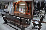 Стол деревянный дачный 1500*800 для кафе, баров, ресторанов от производителя, фото 5
