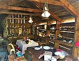 Деревянная беседка под старину из массива древесины, фото 2