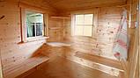 Баня деревянная из профилированного бруса 2.2х4.2. Скидка на домокомплекты на 2021 год, фото 3