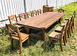 Стол деревянный под старину от производителя, фото 2