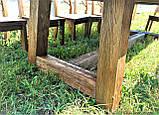 Стол деревянный под старину от производителя, фото 6