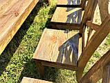 Стол деревянный под старину от производителя, фото 9