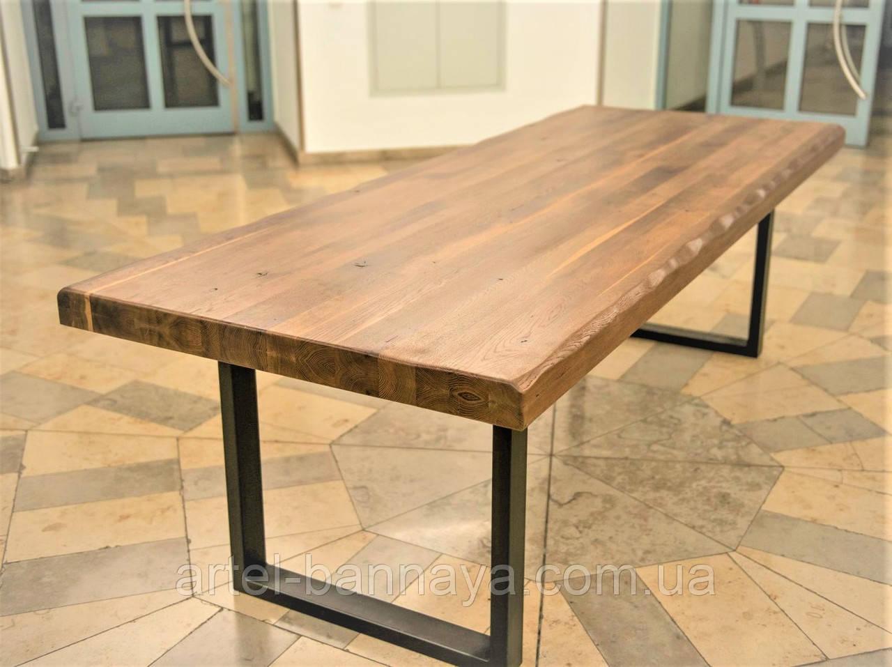 Стол деревянный из термоясеня 2000*900 мм. для кафе, баров, ресторанов от производителя