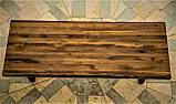 Стол деревянный из термоясеня 2000*900 мм. для кафе, баров, ресторанов от производителя, фото 2