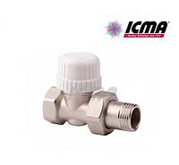 Icma Прямой терморегулирующий вентиль простой регулировки 1/2 №775