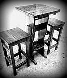 Деревянные барные стулья, садовы стулья для кафе 400х400 от производителя для дачи, кафе  Wooden chair - 05, фото 2