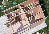 Баня деревянная из профилированного бруса 3х4, фото 4