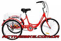 Трёхколёсный велосипед для взрослых ARDIS CITY LINE 24 CTB ST