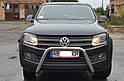 Кенгурятник без гриля (защита переднего бампера) Volkswagen Amarok 2016+, фото 3
