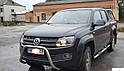 Кенгурятник без гриля (защита переднего бампера) Volkswagen Amarok 2016+, фото 2