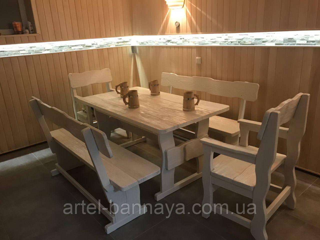 Мебель для бани и сауны из дерева от производителя