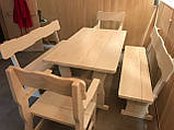 Мебель для бани и сауны из дерева от производителя, фото 2