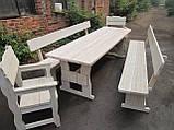 Мебель для бани и сауны из дерева от производителя, фото 7