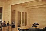 Беседка деревянная из профилированного бруса с закрытой комнатой  6х3 м. низкая цена от производителя, фото 2
