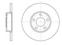 Тормозной диск передний AUDI 100 (C4),A4 (8D2, B5)(1995-2000),A6 (4A, C4),пр-во ABE C3A005ABE