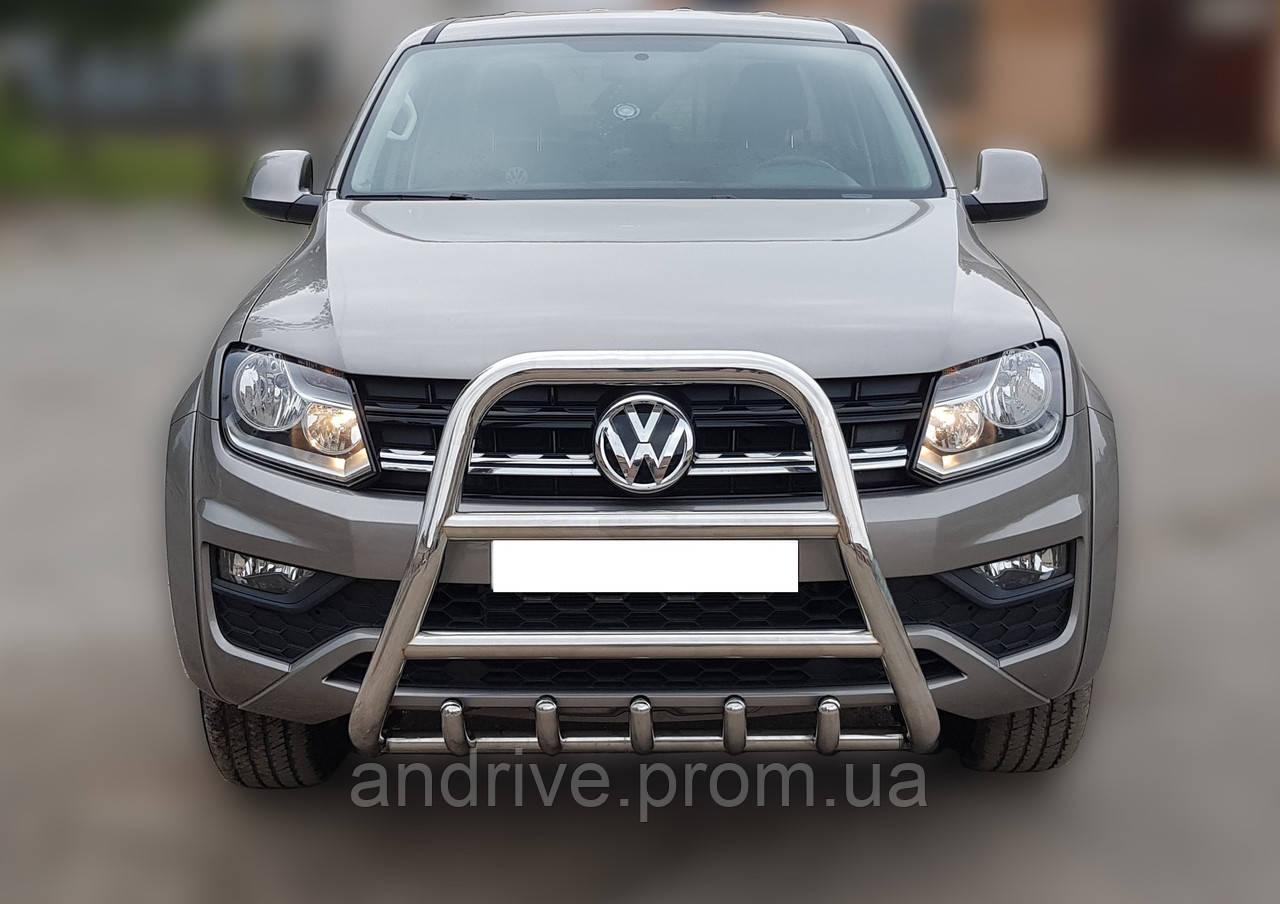 Кенгурятник високий (захист переднього бампера) Volkswagen Amarok 2016+