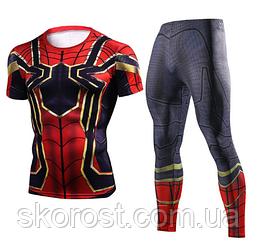 Мужской спортивный костюм косплей Человек Паук S
