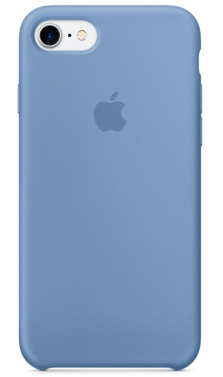 Задняя накладка Hi-Copy Silicone Case APPLE IPHONE 7 | 8 (№24 AZURE)