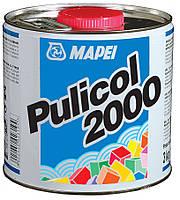 Гель-очисник від залишків клею та затирки, PULICOL 2000 /  MAPEI / 0,75 л