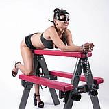 Мебель - скамейка для порки, бдсм козлик для садо-мазо игр, фото 4