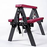 Меблі - лавка для прочуханки, бдсм козлик для садо-мазо ігор, фото 8