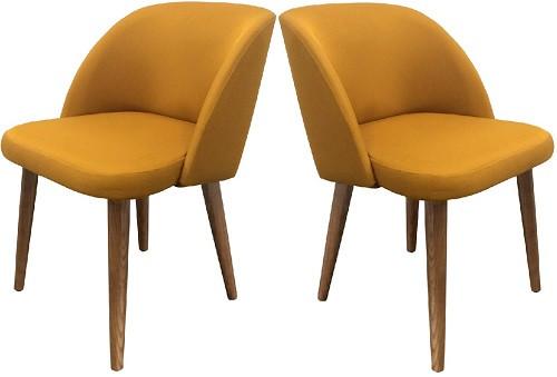 Кресло Комфи желтое - картинка