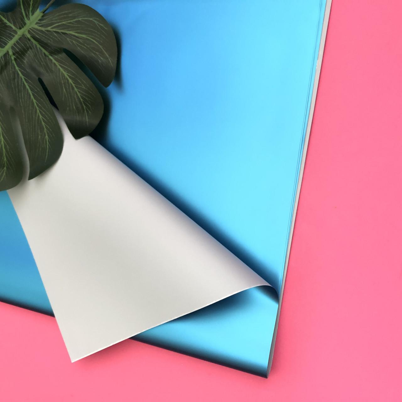 Бумага пленка для упаковки подарков в листах арт 034