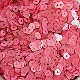 Пайетки Турция 4 мм. Микс Розовый №1. Упаковка 5 гр., фото 3